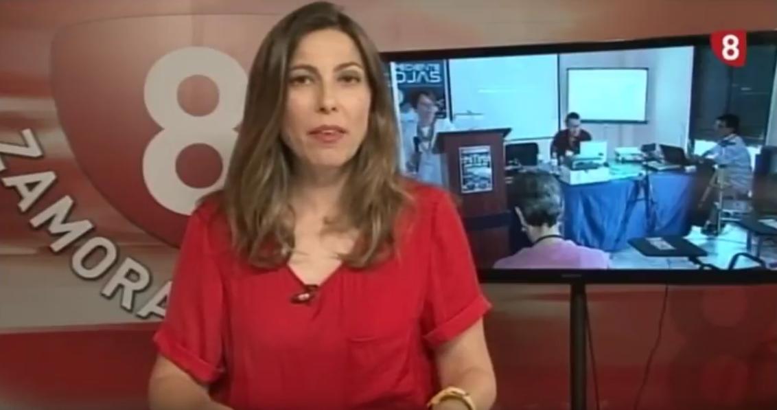 Entrevista Tv La 8 Zamora CYL Telediario