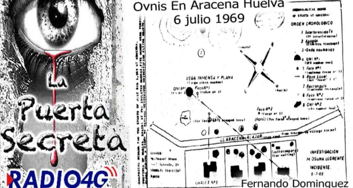 OVNIS en Aracena Huelva 1969