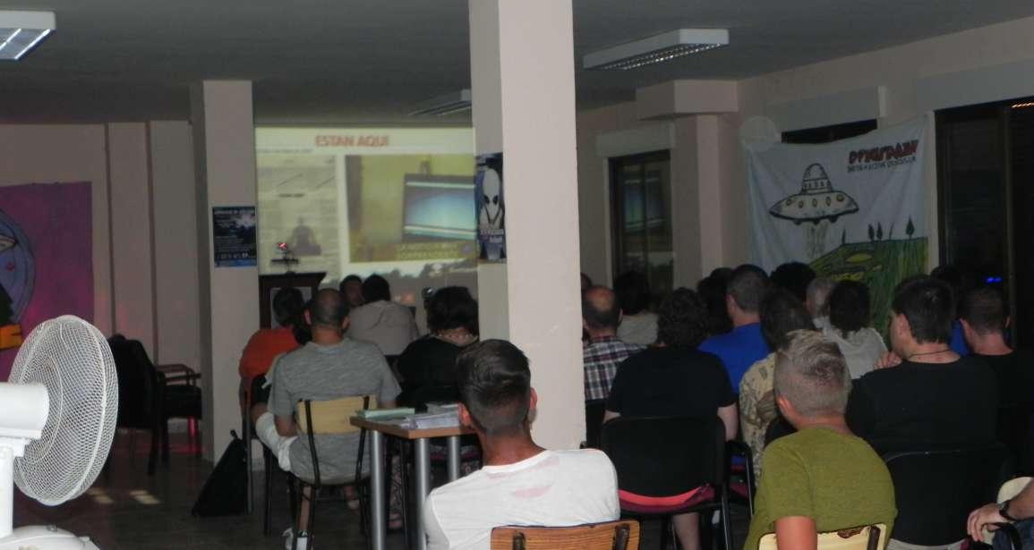 Unas jornadas reúnen hoy en Morales a expertos y aficionados a la ufología