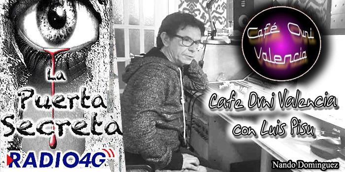 Cafe Ovni Valencia con el Ufólogo Luis Pisu