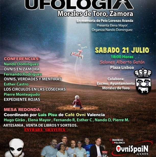 Cuartas jornadas de Ufologia en Morales de Toro Zamora