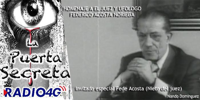 Homenaje al Juez Federico Acosta Noriega Ovnis Sobre Zamora