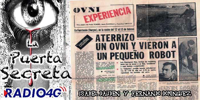 Luis Domínguez y el Robot que bajo de un OVNI Fuentecen Burgos 1981