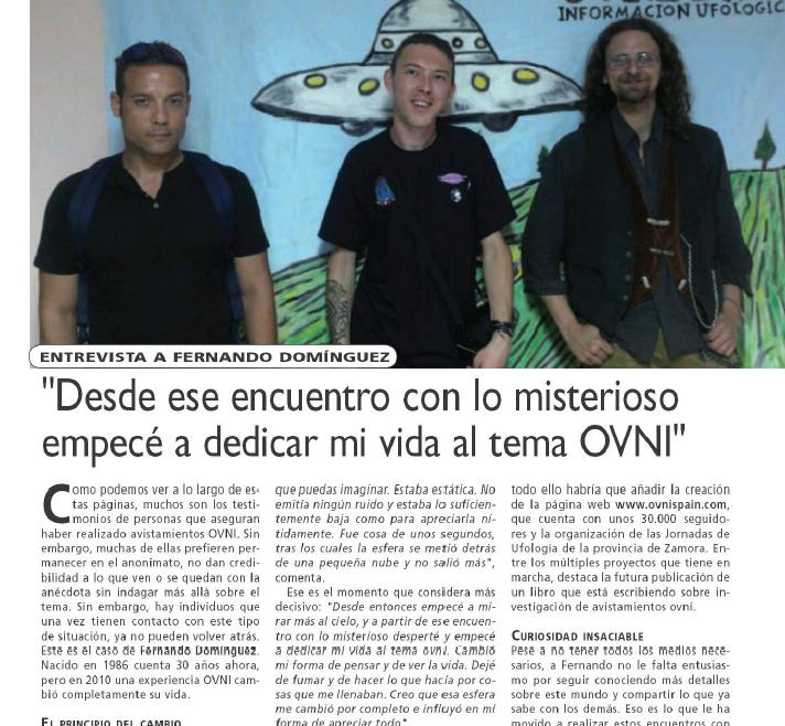 Mas Allá de la Ciencia entrevista Nando Dominguez