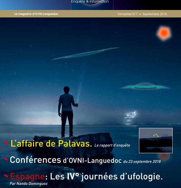 Magazine Logosphères Septiembre 2018 Les IV° journées d'ufologie