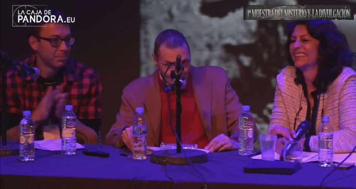 El Fenómeno OVNI ,con Luis Pisu, Nando Domínguez e Isabel Dauden Muestra Misterio Valencia