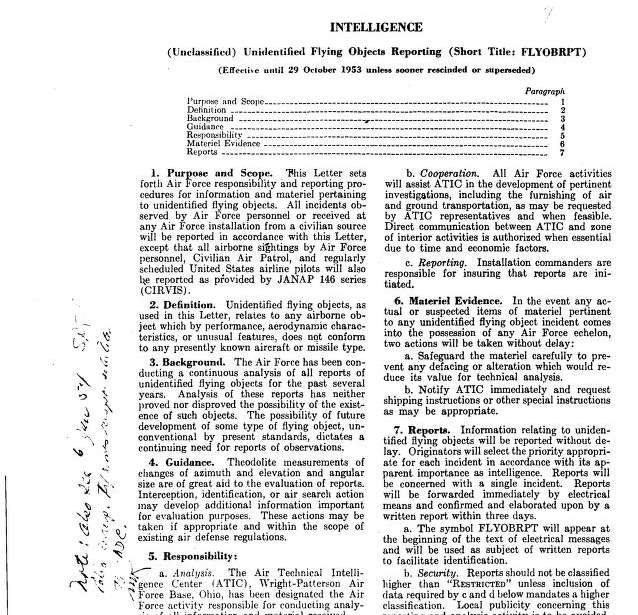 Miscellaneous Air Force reports