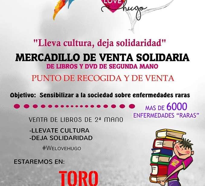 Mercadillo de libros Solidario en Toro Navidades Solidarias en Toro Zamora