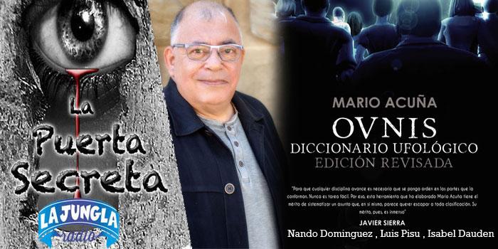 La Puerta al Misterio – Las ultimas noticias de la Luna y Diccionario ufologico con Mario Acuña