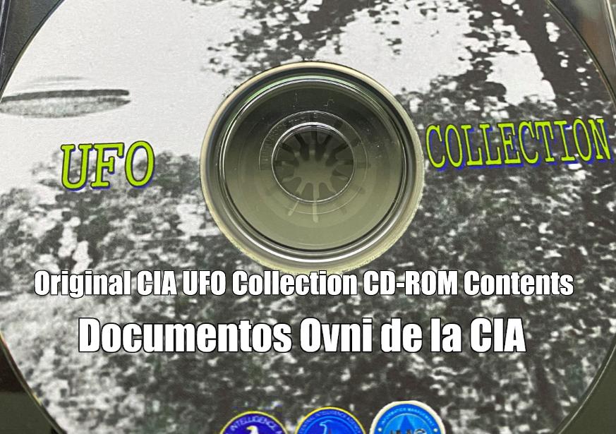 Original CIA UFO Collection CD-ROM Contents
