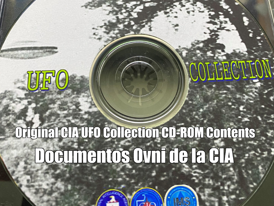 Original CIA UFO Collection CD-ROM Contents