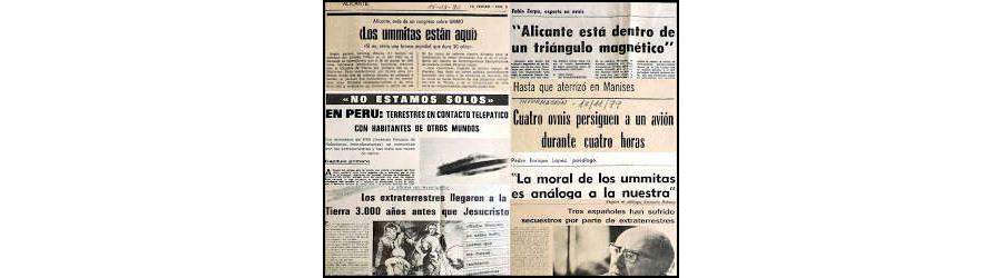 RECORTES DE PRENSA UFOLOGIA (Archivo C.I.M. Alicante)