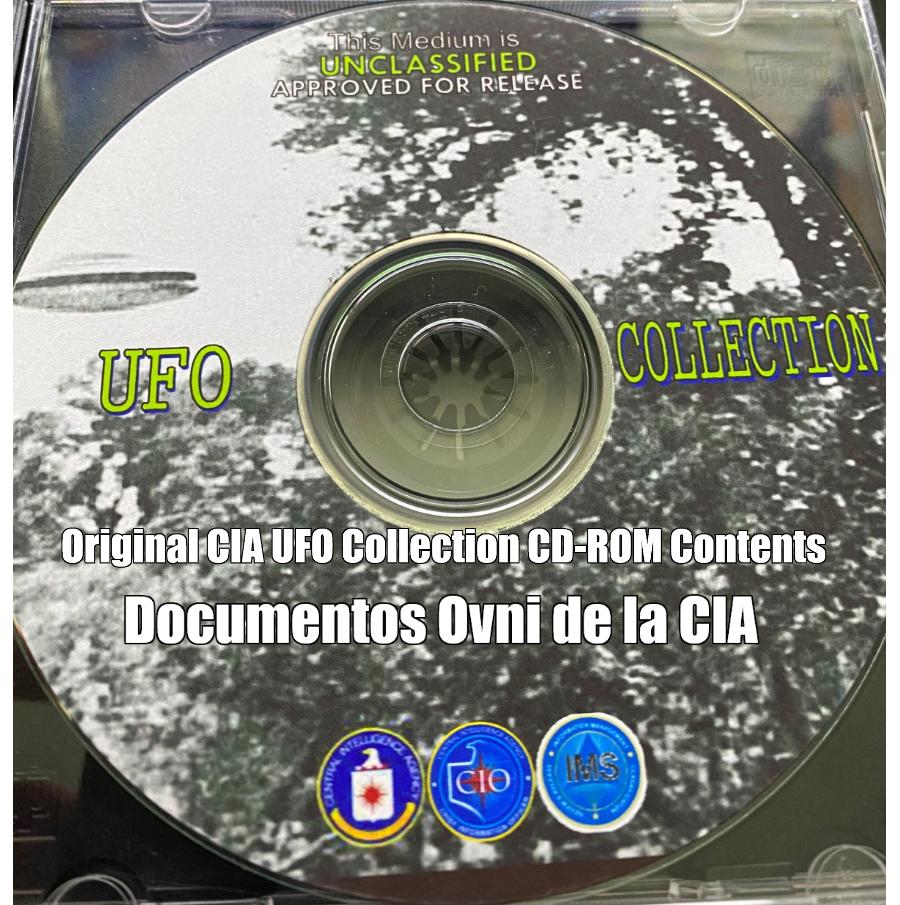 Contenido del CD-ROM CIA UFO Collection